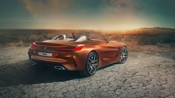 BMW Concept Z4 Roadster chinh thuc xuat hien hinh anh 8