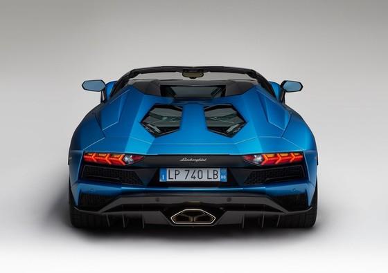 Lamborghini Aventador S Roadster - tuyet pham mui tran hinh anh 4