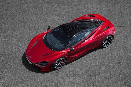 McLaren trinh lang 2 sieu pham Spider 570S va 720S hinh anh 2