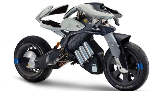 Yamaha MWC-4 - Xe 4 bánh mang cảm hứng mô tô và nhạc cụ - Ảnh 3.