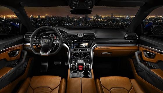 Chính thức ra mắt siêu SUV Lamborghini Urus, giá từ 200.000 USD ảnh 9