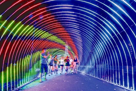 Rực rỡ sắc màu lễ hội đèn LED ảnh 2