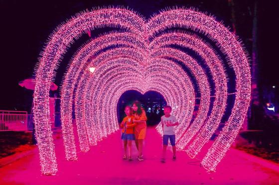 Rực rỡ sắc màu lễ hội đèn LED ảnh 1