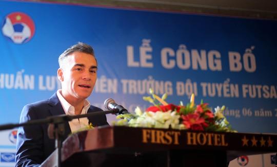 Tân HLV Miguel Rodrigo: Quyết tâm đưa đội tuyển futsal VN vào top 4 châu Á ảnh 1