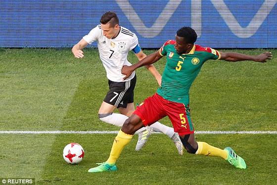 Đức và Chilê vào bán kết Confed Cup 2017 ảnh 1