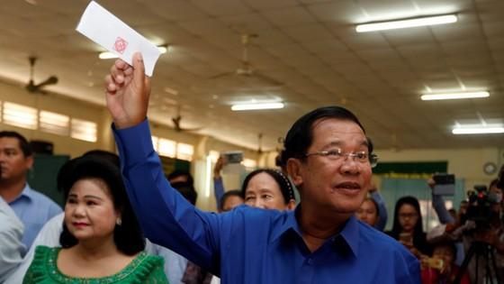 Đảng Nhân dân Campuchia chiến thắng ở vòng bầu cử xã, phường ảnh 1