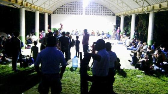 Mexico: Giải cứu 178 người trong thùng xe container ảnh 1