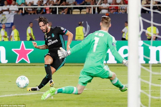 Real Madrid đoạt Siêu cúp châu Âu 2017 ảnh 2