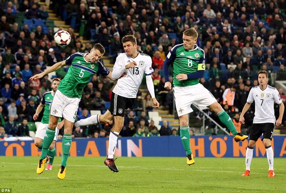 Anh và Đức giành vé dự VCK World Cup 2018 ảnh 2
