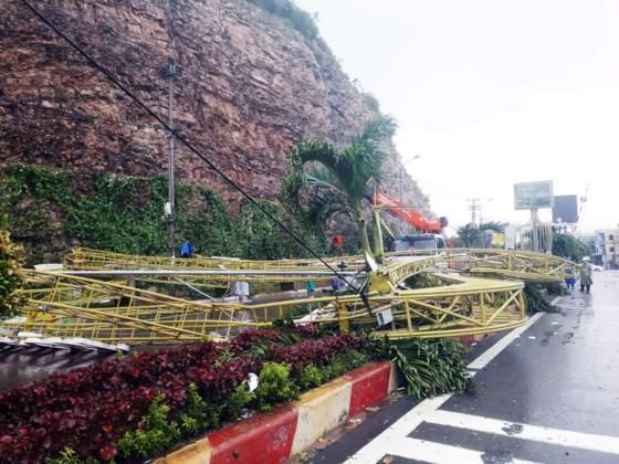 Quy Nhơn, Nha Trang tan hoang sau bão số 12 ảnh 9