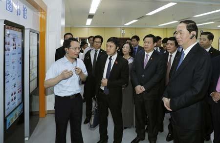 Việt Nam khuyến khích đầu tư  những dự án có hàm lượng công nghệ cao ảnh 1
