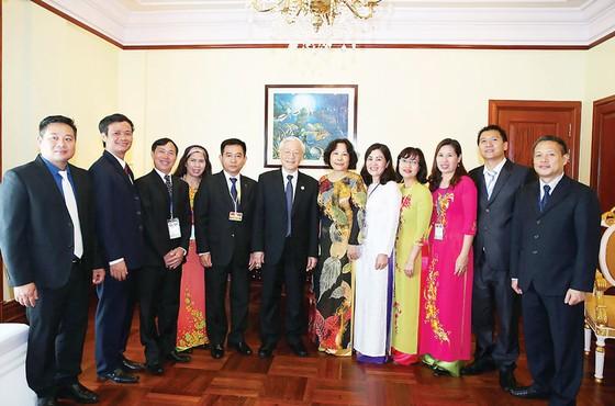 Tổng Bí thư Nguyễn Phú Trọng kết thúc tốt đẹp chuyến thăm cấp Nhà nước Vương quốc Campuchia ảnh 1