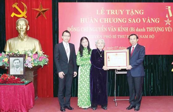 Truy tặng Huân chương Sao Vàng cho đồng chí Nguyễn Văn Kỉnh ảnh 1