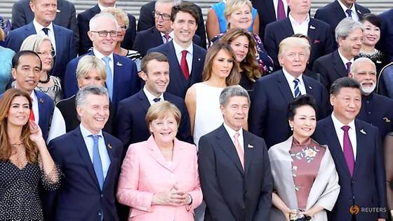Các nhà lãnh đạo G20 tham dự hội nghị tại Hamburg