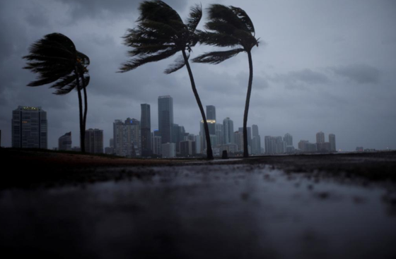 Siêu bão Irma tiến vào đất liền bang Florida của Mỹ ảnh 1