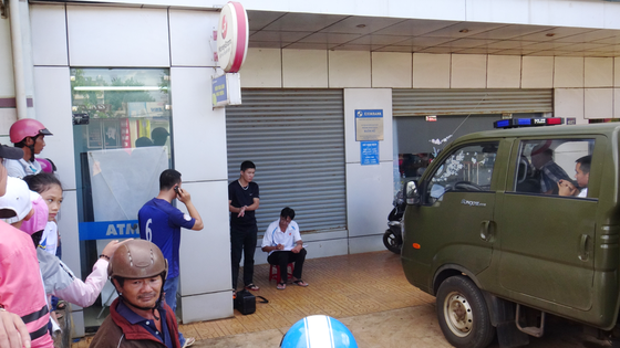 Bắt giữ nam thanh niên đục phá trụ ATM để cướp tiền ảnh 1