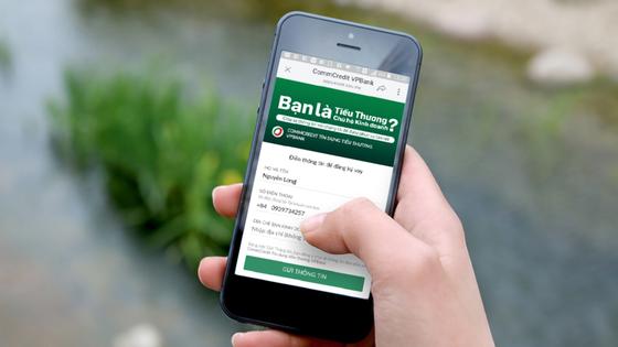 Ra mắt cổng thông tin kết nối ngân hàng với tiểu thương   ảnh 1