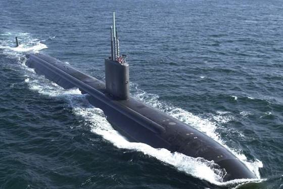 Tàu ngầm hạt nhân Mỹ tới Hàn Quốc  ảnh 1