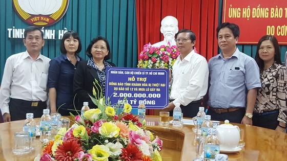 Thành ủy TPHCM ủng hộ Khánh Hòa 2 tỷ đồng khắc phục bão số 12 ảnh 1