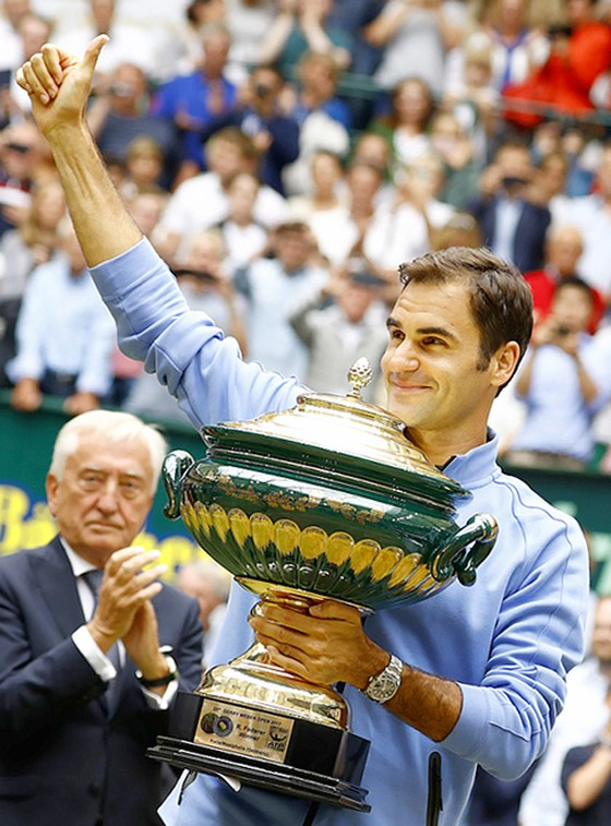 Federer thắng danh hiệu thứ 9 ảnh 1
