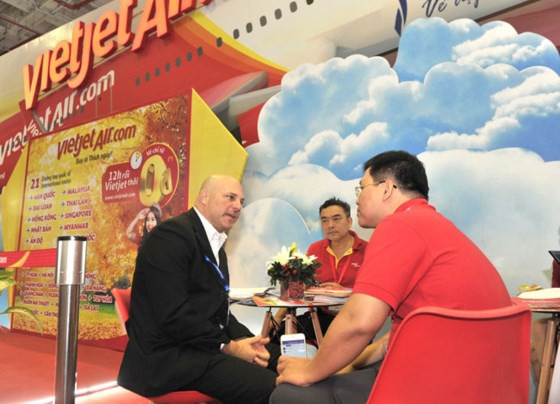 Vietjet tặng 700.000 vé giá 0 đồng tại Hội chợ Du lịch quốc tế TPHCM ảnh 2