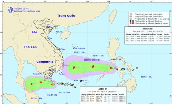 Từ hôm nay đến hết ngày 02-11, Nam Bộ có mưa, có nơi mưa rất to ảnh 1