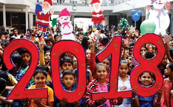 Thế giới đón năm mới 2018 - Niềm tin và hy vọng ảnh 1