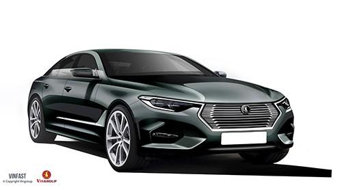 VinFast công bố thiết kế 20 mẫu xe hơi thương hiệu Việt ảnh 1