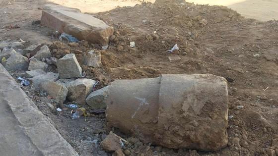 Quảng Ngãi: Phát hiện cổ vật trong lúc thi công đường ảnh 2