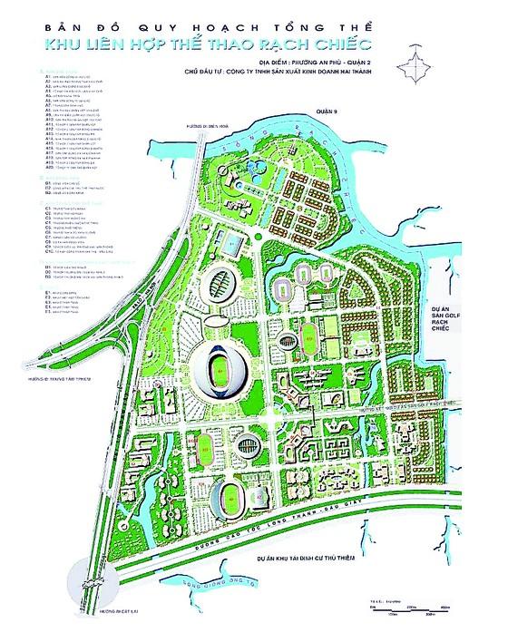 Hơn 1.000 tỷ đồng giải phóng mặt bằng dự án sân bóng đá và Trung tâm thể thao Thái Sơn Nam ảnh 1
