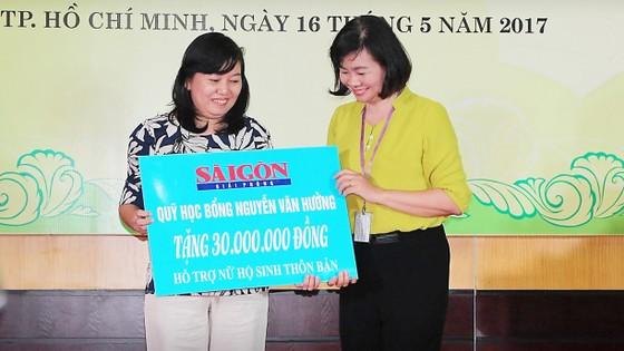 Trao học bổng Nguyễn Văn Hưởng năm 2017 cho 135 SV ngành y  ảnh 3