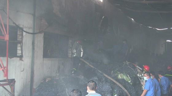 Cháy Khu công nghiệp Tân Thới Hiệp, công nhân bỏ chạy tán loạn ảnh 3