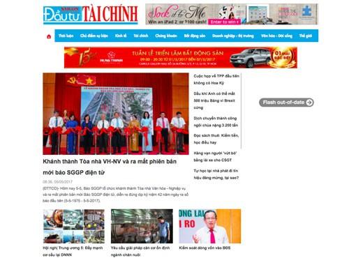 Sài Gòn ĐTTC online ra mắt phiên bản mới ảnh 1