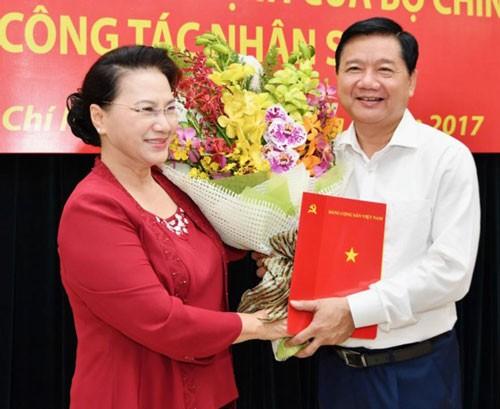 Ông Nguyễn Thiện Nhân nhận quyết định làm Bí thư Thành ủy TPHCM ảnh 2