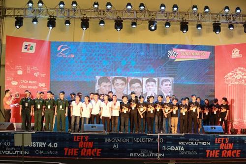 Học viện Quân sự đoạt giải đua xe công nghệ lần đầu tiên ảnh 1