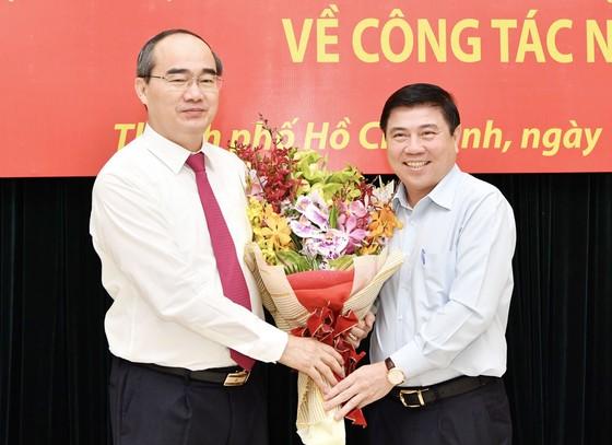 Đồng chí Nguyễn Thiện Nhân nhận quyết định là Bí thư Thành ủy TPHCM ảnh 4