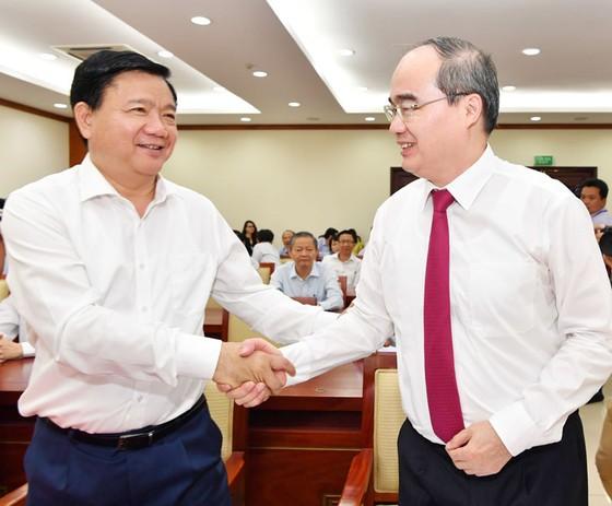 Đồng chí Nguyễn Thiện Nhân nhận quyết định là Bí thư Thành ủy TPHCM ảnh 3