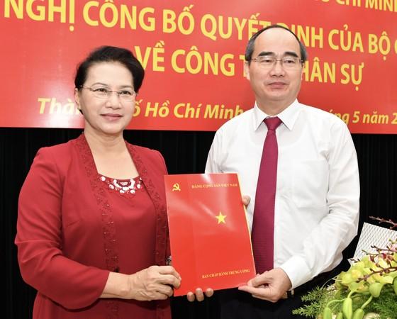 Đồng chí Nguyễn Thiện Nhân nhận quyết định là Bí thư Thành ủy TPHCM ảnh 1