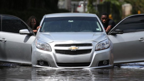 Florida tan hoang sau bão Irma ảnh 19
