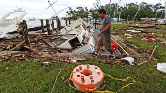 Florida tan hoang sau bão Irma ảnh 26