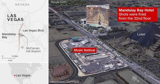 Vụ xả súng tại Las Vegas: Cảnh sát phát hiện kho vũ khí tại nhà nghi can ảnh 1