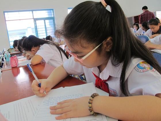 """Cuộc thi """"Văn hay chữ tốt"""" năm 2017 tại TPHCM: Quận Tân Bình khởi động vòng thi cấp quận, huyện ảnh 1"""