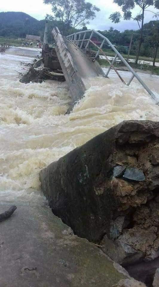 Thanh Hóa: 14 người chết, 10 người bị thương và mất tích do bão lũ ảnh 1