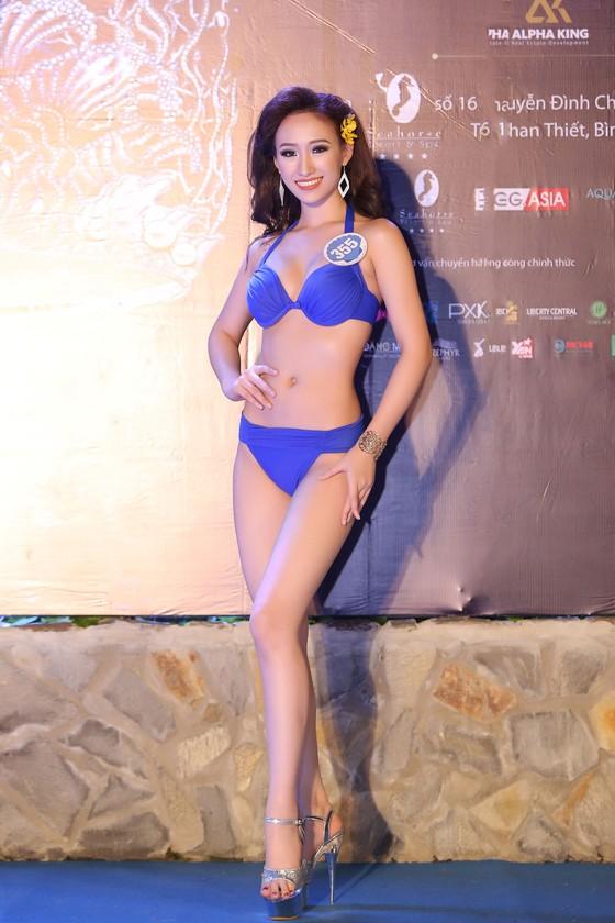 Thí sinh Hoa hậu Đại Dương Việt Nam 2017 quyến rũ trong phần thi trang phục bikini ảnh 12