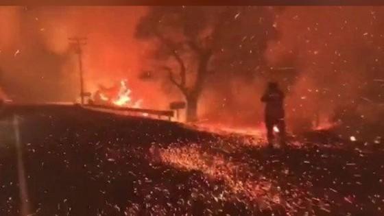 Mỹ: Cháy rừng tại Nam California tiếp tục diễn biễn phức tạp  ảnh 22
