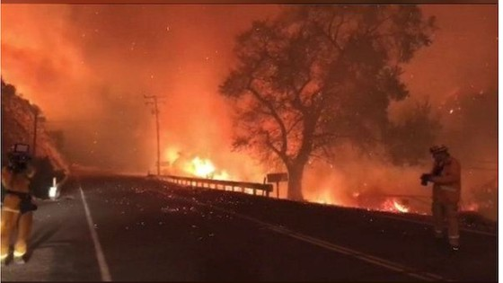 Mỹ: Cháy rừng tại Nam California tiếp tục diễn biễn phức tạp  ảnh 23