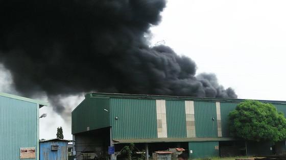 Cháy lớn bên dưới đường điện cao thế, cắt điện toàn thành phố Vũng Tàu ảnh 4