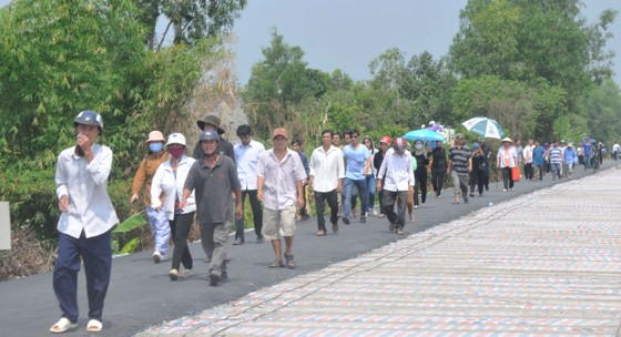 Lễ an táng nguyên Thủ tướng Phan Văn Khải ảnh 25