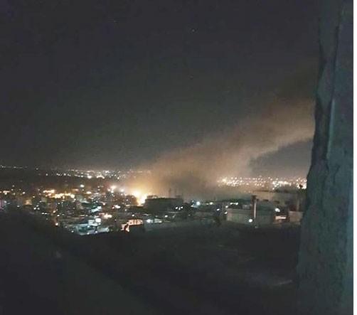 Nổ lớn tại Syria sau khi Tổng thống Mỹ ra lệnh tấn công ảnh 3