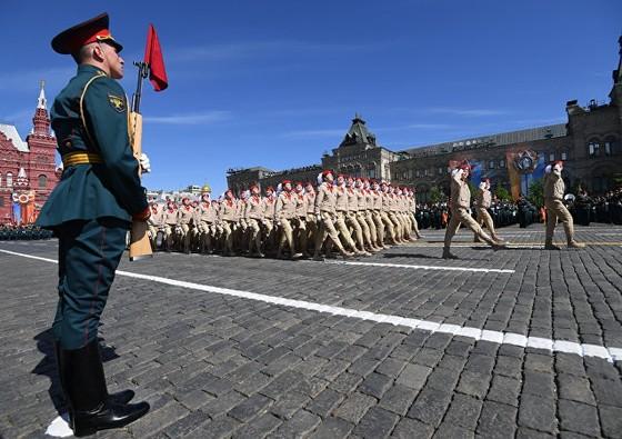 Nga diễu binh mừng Ngày Chiến thắng ảnh 1